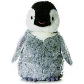 "12"" Penny Penguin Flopsie Soft Cuddly Toy"