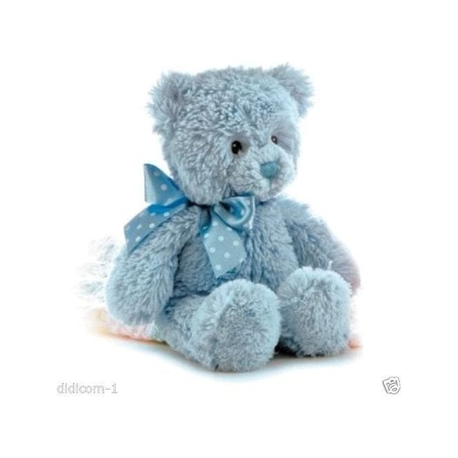 "Aurora 12"" Yummy Blue Cuddly Teddy Bear"