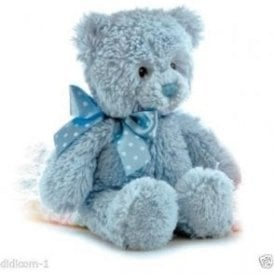 "12"" Yummy Blue Cuddly Teddy Bear"