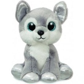 Sparkle Tales Blizzard Husky Dog 12in Grey