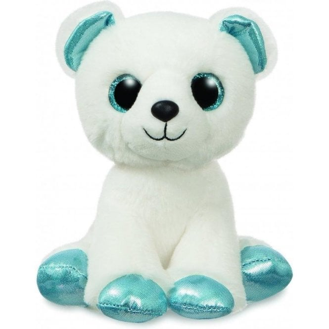 Aurora Sparkle Tales Igloo Polar Bear 12""