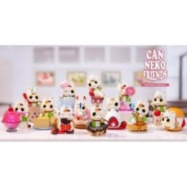 Can Neko Friends Sweet Series 1 Piece Blind Box