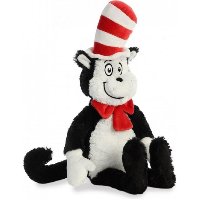Aurora Cat In The Hat Plush Toy 19in by Aurora