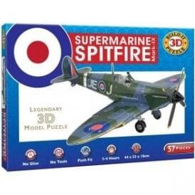 Build Your Own Supermarine Spitfire Mark-IX  3D Puzzle Model