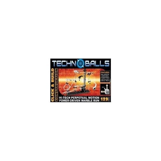 Cheatwell Techno Balls / Spacerail 129-Hi-Tech-Perpetual Motion Marble Run Roller Coaster