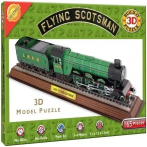 The Flying Scotsman Train 3D Model Jigsaw Puzzle -165 pieces