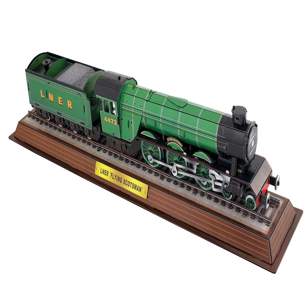 Cheatwell The Flying Scotsman 3D Model Jigsaw Puzzle