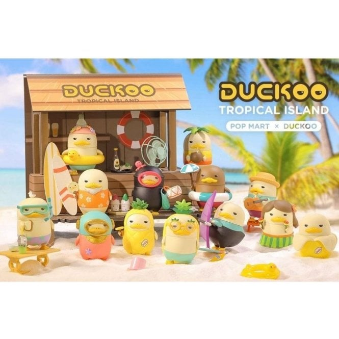 Duckoo Tropical Island by Pop Mart 1 Piece Blind Box