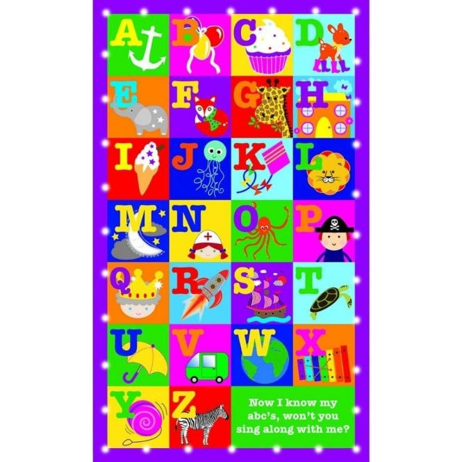 Floss & Rock Alphabet Illuminations LED Canvas/Picture/Night Light