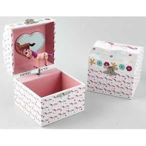 Fairy Unicorn Square Jewellery Box