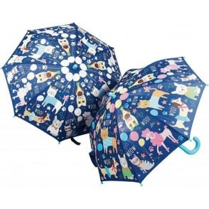 Floss and Rock Pets Blue Colour Change Umbrella
