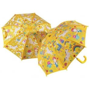 Floss & Rock Rainbow Magic Colour Changing Umbrella