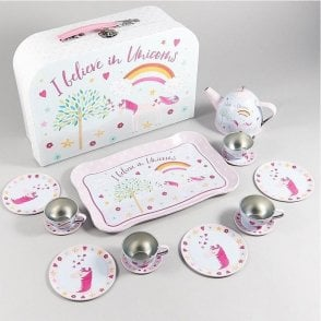 Unicorn 15 piece Tea Set in Attache case