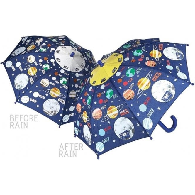 Floss & Rock Universe/Solar-system Colour-Changing Umbrella