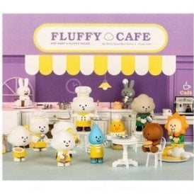 FLUFFY CAFE 1 Piece Blind Box