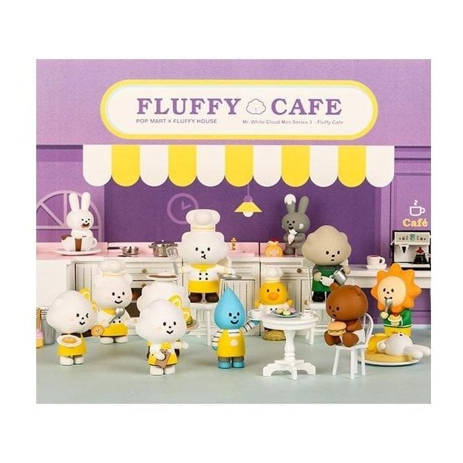 FLUFFY HOUSE FLUFFY CAFE 1 Piece Blind Box