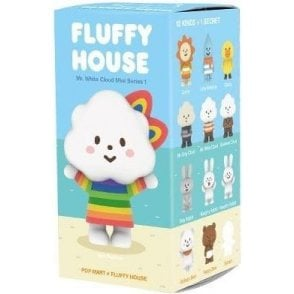Fluffy House Series 1 Mr White Cloud 1 piece blind box