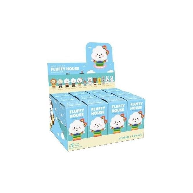 FLUFFY HOUSE Series 1 Mr White Cloud Box Set 12 Piece