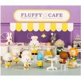 Fluffy House Series 3 Fluffy Cafe Box Set 12 Piece