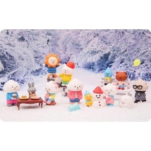 FLUFFY HOUSE Winter Edition 1 Piece Blind Box