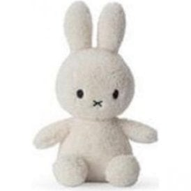 "Miffy Terry Towling Soft Toy 9"" in Cream Nijntje"