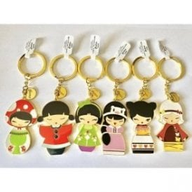 Momiji Doll Keyring - Choose your Favourite