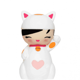 Momiji Messenger Doll Lucky Kitty 2011 Edition