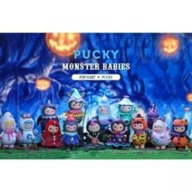 Pucky Monster Babies by POP MART 1 Piece Blind Box
