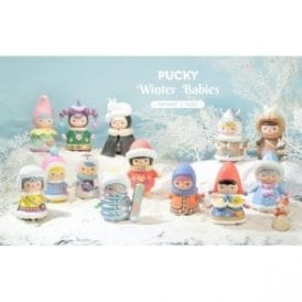 PUCKY Winter Babies 1 Piece Blind Box