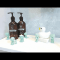 "Smiski Bath Series ""Glow in the dark"" collectable figurines"
