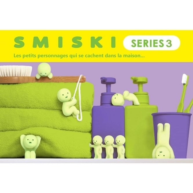 Smiski Series 3 Glow In The Dark Figurine/Mini Figure