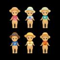 Sonny Angel Caribbean Sea Version Boxset 12pc's - Summer 2016