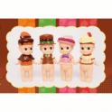 Sonny Angel Chocolate/Valentine Series Limited Edition Mini Figurine 4 Pc Set 2016
