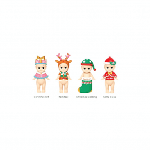 Christmas Series 2016 Limited Edition Set of 4 Blind Figurines