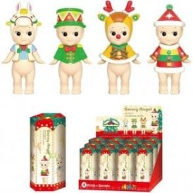 Christmas Series 2017 Limited Edition Set of 12 Mini Figures Dolls Figurines