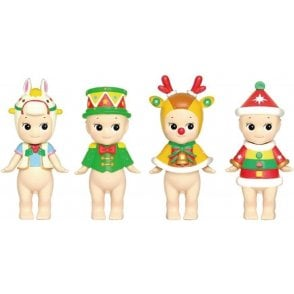 Christmas Series 2017 Limited Edition Set of 6 Mini Figures NEW