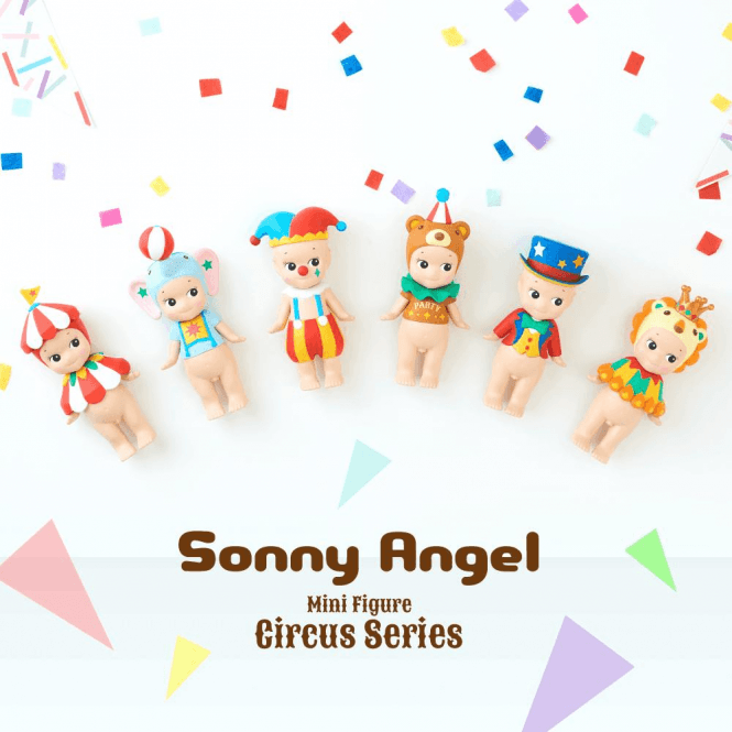 Sonny Angel Circus Series Box Set