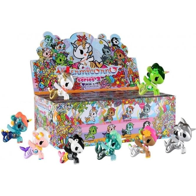 Tokidoki Mermicorno Series 2 Mini Figure Collectable - Choose your Favourite