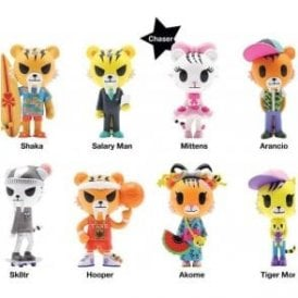 Tokidoki Tiger Nation Series 1 Piece Blind Box
