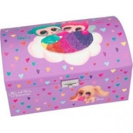 Ylvi and the Minimoomis jewellery box by Depesche with secret pull out drawer