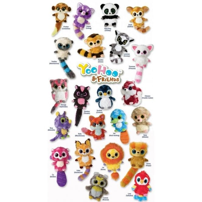 Yoohoo & Friends Choose your favourite Animal:-