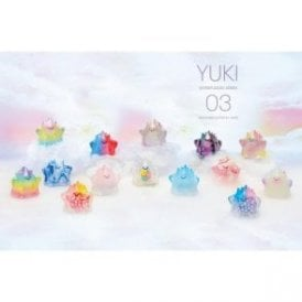 YUKI Series 3 Sofubi Kalju Transparent Mini Figures 1 Piece Blind Box