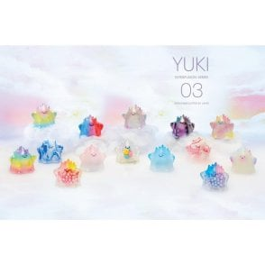 YUKI Sofubi Kalju Transparent Mini Figure Series 3 Box Set 12 Piece